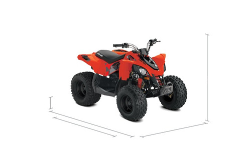 quadriciclo youth ds 90 can am