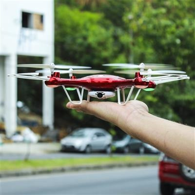 quadricóptero drone com câmera wifi 4 canais