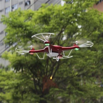 quadricóptero drone com câmera wifi 4 canais - zein