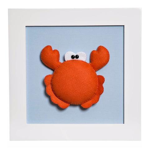quadrinho quadro fundo mar nenê menino quarto bebê infantil