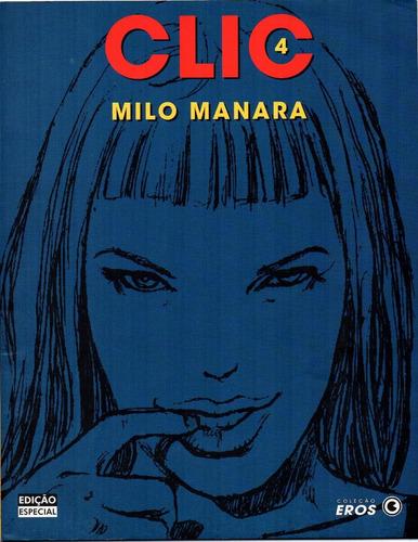 quadrinhos eróticos - clic - milo manara - 2, 3 e 4