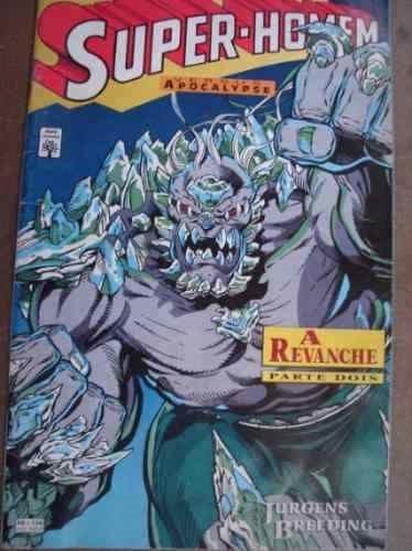 quadrinhos super homem versus apocalypse - partes 1,2,3
