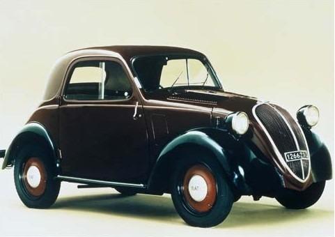 Quadro 20x30 Fiat 500 Topolino 1936 Novo Okm