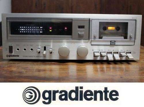 quadro 20x30 + foto digital do tape deck gradiente cd-4000