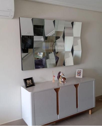 quadro 3 d de espelhos