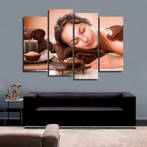 quadro 84x120cm massagem clínicas spa decorativo estética 02