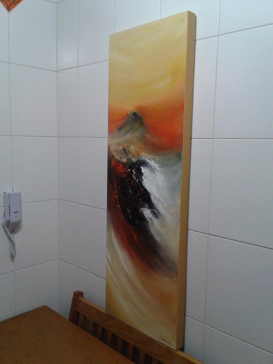 Quadro Abstrato Decorativo Para Sala Barato Lindo Pronto R 480  -> Quadro Abstrato Pra Sala Barato