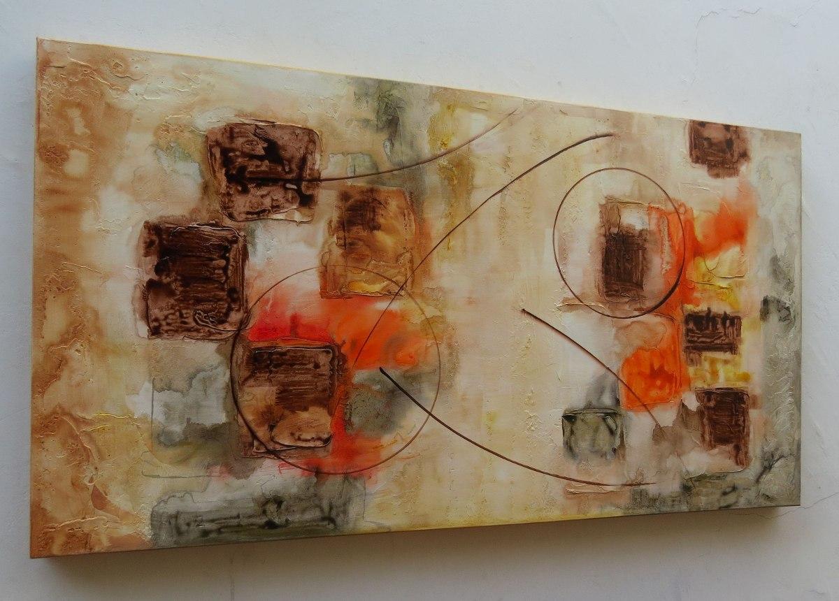 Quadros Decorativos Abstratos Artesanato No Mercado Livre Brasil -> Quadro Abstrato Pra Sala Barato