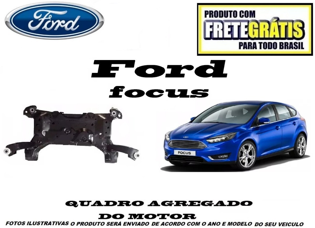 Quadro Agregado Ford Focus 2014 Original Frete Gratis