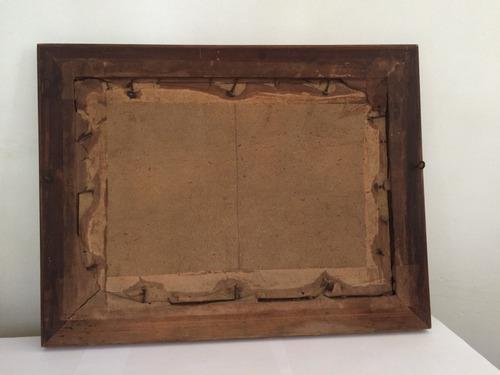 quadro antigo óleo sobre tela assinado