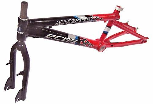 quadro aro 20 bmx ecos bikes xt250 aluminio com garfo
