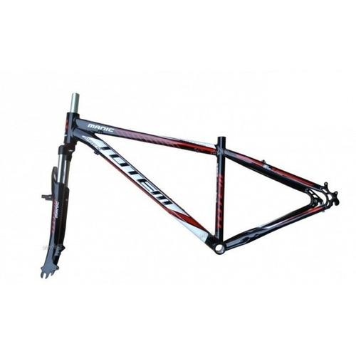 quadro aro 29 totem manic bike tam.17 com suspensão aluminio