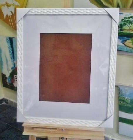 quadro assinatura p/ foto 30x40cm, 50x60cm c/ margem de 10cm