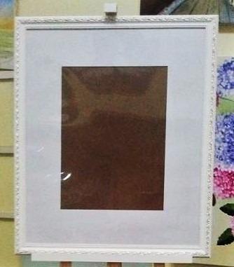 quadro assinaturas para foto 30x40cm c/ margem 10cm= 50x60cm