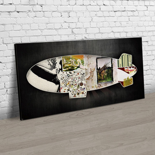 quadro banda rock led zeppelin retrô vintage decoração t122