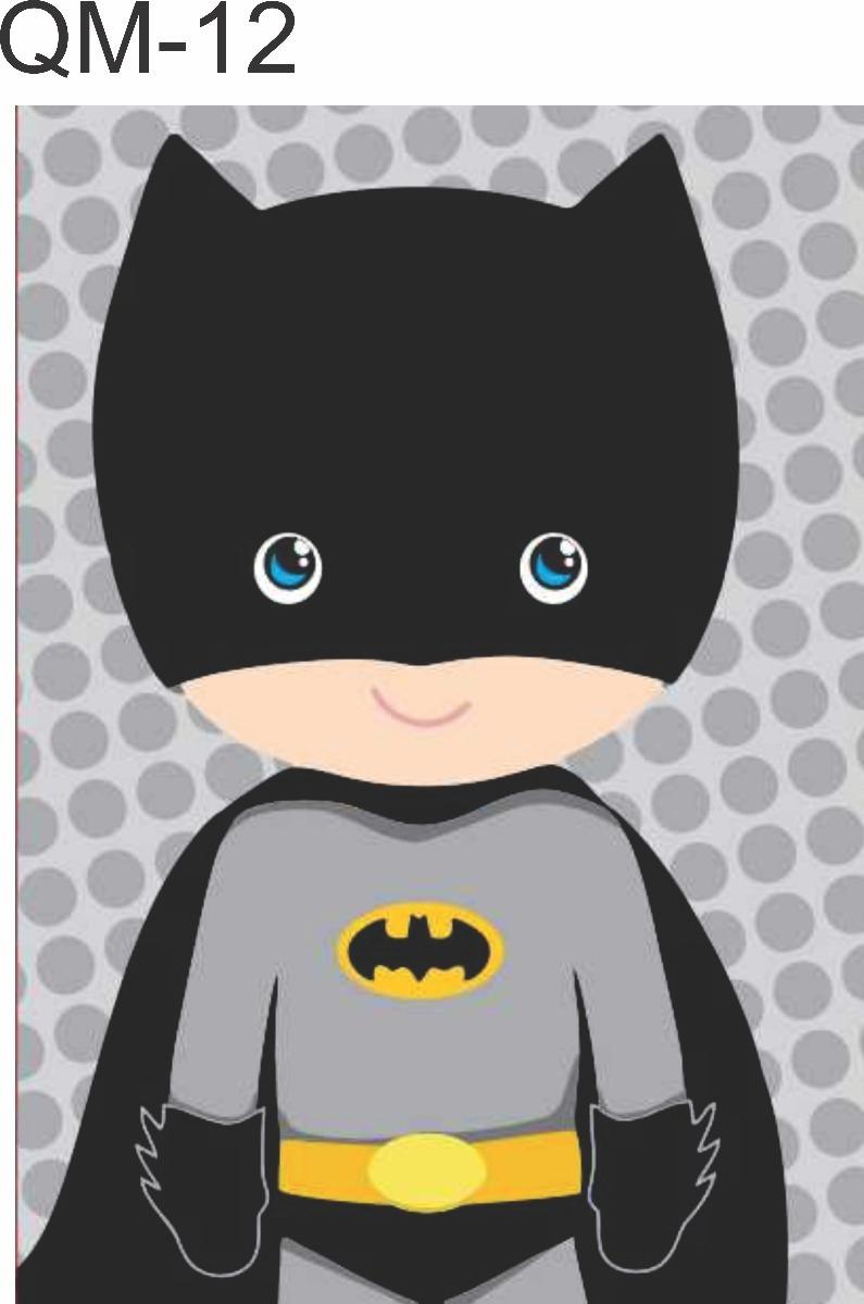 Quadro Batman Super Heroi Marvel Desenho 40x30 R 22 90 Em