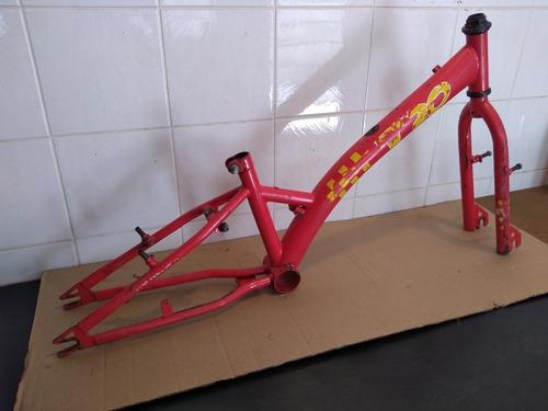 quadro bicicleta aro 20 antigo low rider chopper monareta