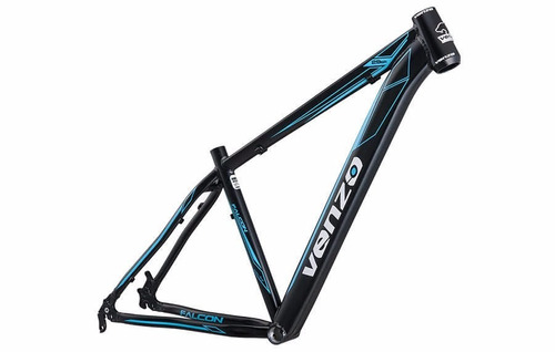 quadro bicicleta aro 29 venzo falcon aluminio varias cores