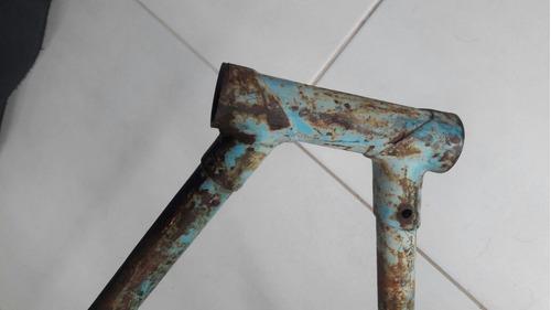 quadro bicicleta monark águia imperial decada 1970