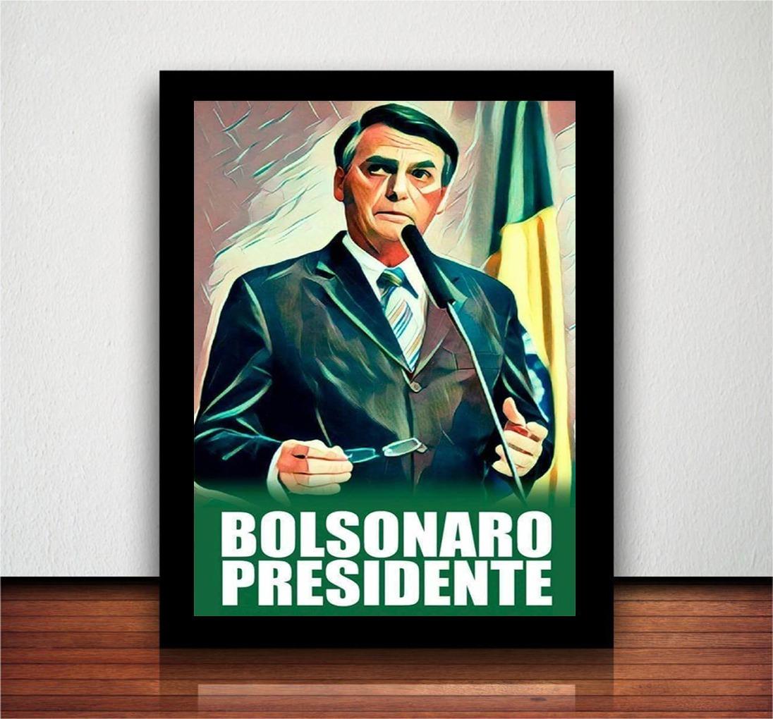 Resultado de imagem para bolsonaro quadro foto oficial presidente