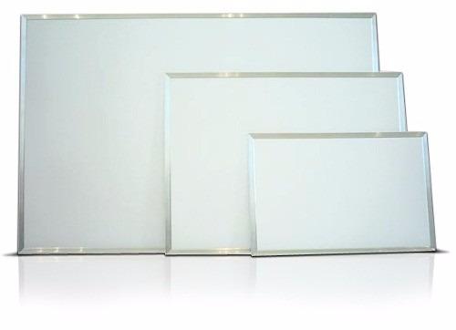 quadro branco lousa fórmica 200x120 cm moldura de alumínio