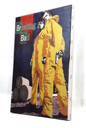 quadro breaking bad impresso em tela de pintura