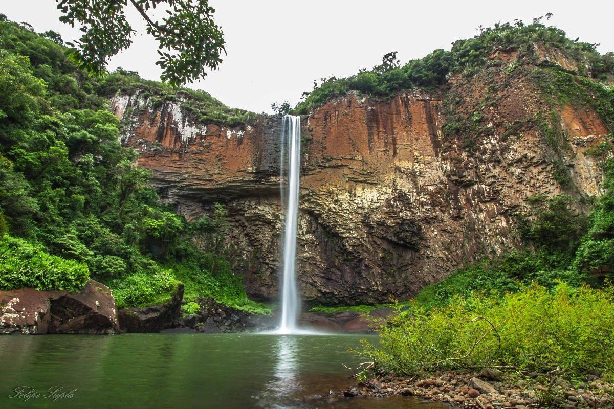 Quadro Cachoeira Chuvisqueiro Riozinho Paisagem Decoração - R$ 180 ...