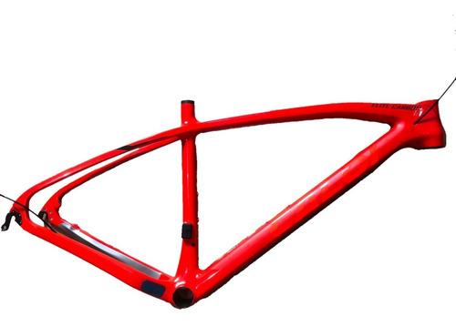 quadro caloi elite carbon sport 2020 vermelho tamanho 17 19
