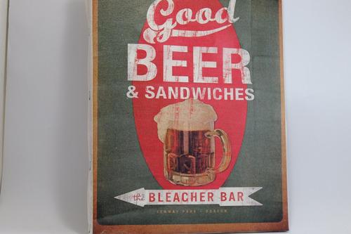 quadro cerveja  impressão em tela de pintura 30x40