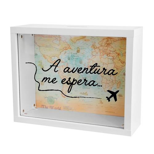 quadro cofre viagem / aventura decoração promoção