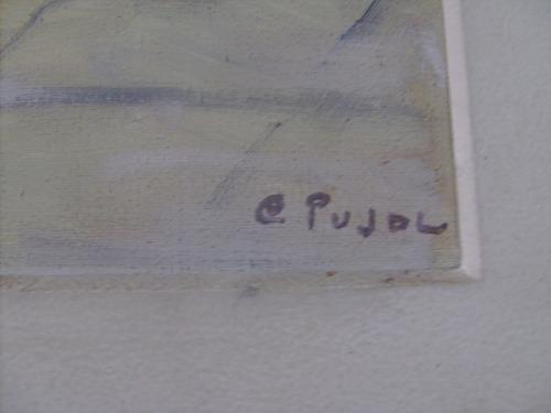 quadro colette pujol ost 27x35 casario/rua