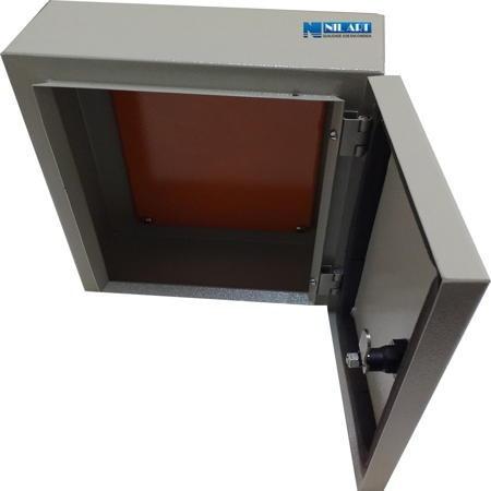 quadro comando elétrico para montagem 200x200x150 mm