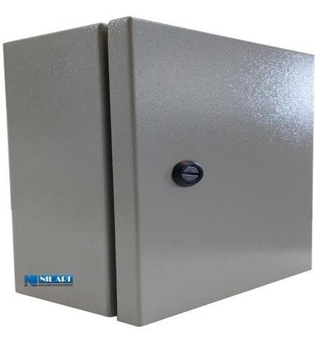 quadro comando elétrico para montagem 500x400x200 mm