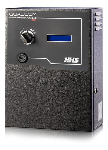quadro de comutação automático nhs  ats quadcom 100a