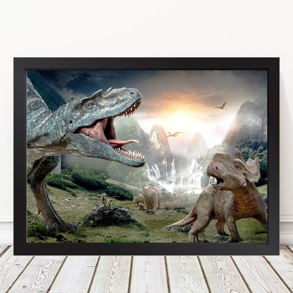 Quadro De Dinossauros Reais A3 R 59 00 Em Mercado Livre