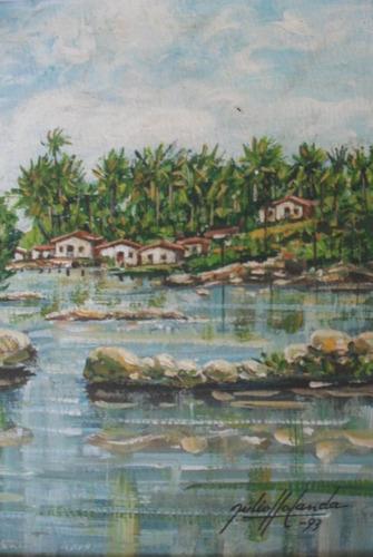 quadro de julio holanda catalogado na galeria uniarte