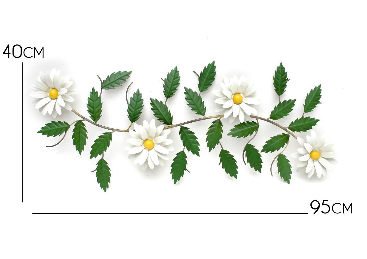 Quadro De Parede Sala Flor No Mercado Livre Brasil -> Quadro De Parede Para Sala