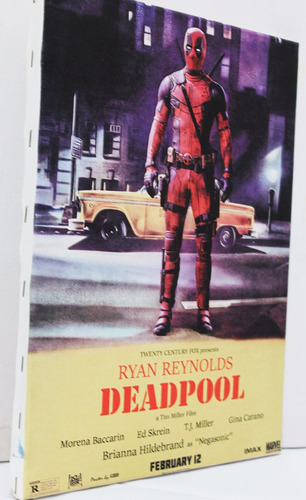 quadro deadpool impressão em canvas