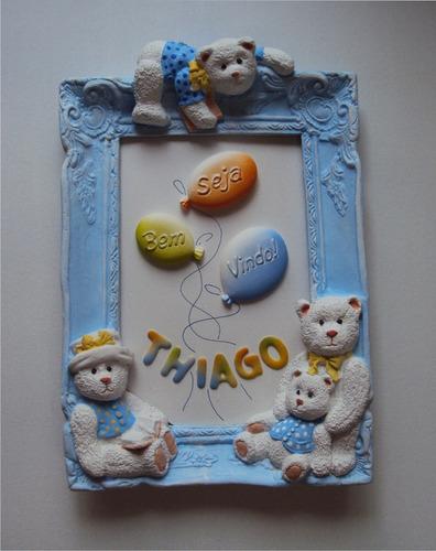 quadro decoração infantil, porta maternidade.