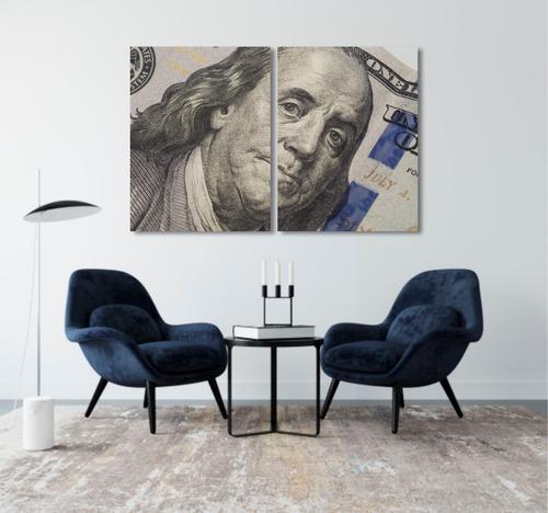 quadro decoração investidor trader dólar dinheiro mdf 6mm