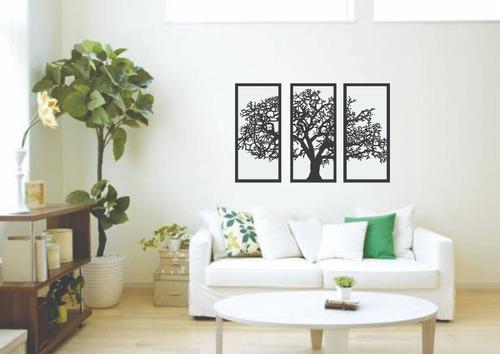 quadro decoração mosaico árvore da vida superking 1,00x1,60m