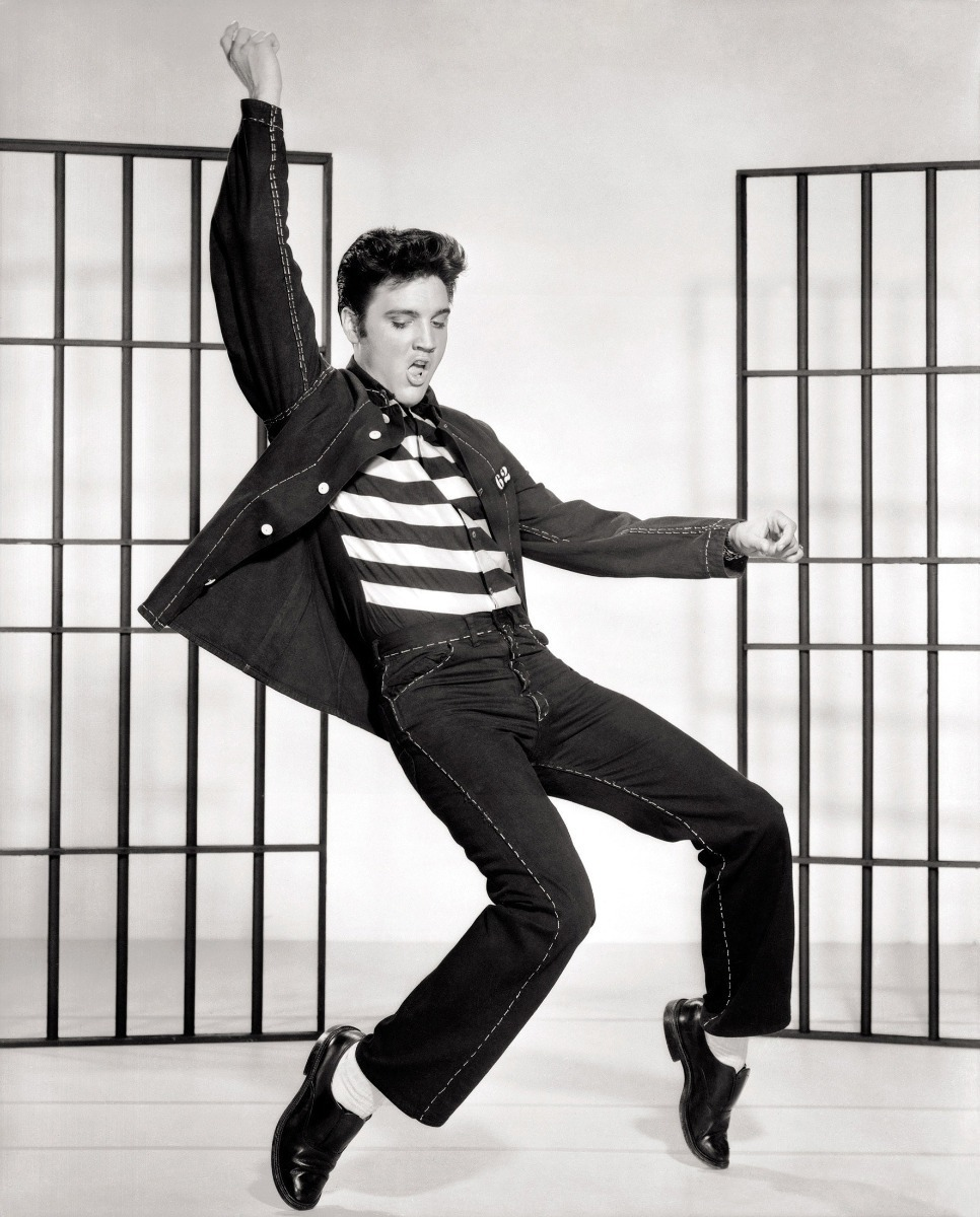 Quadro Decorativo - 64x44 - Elvis Presley - Jailhouse Rock - R ...