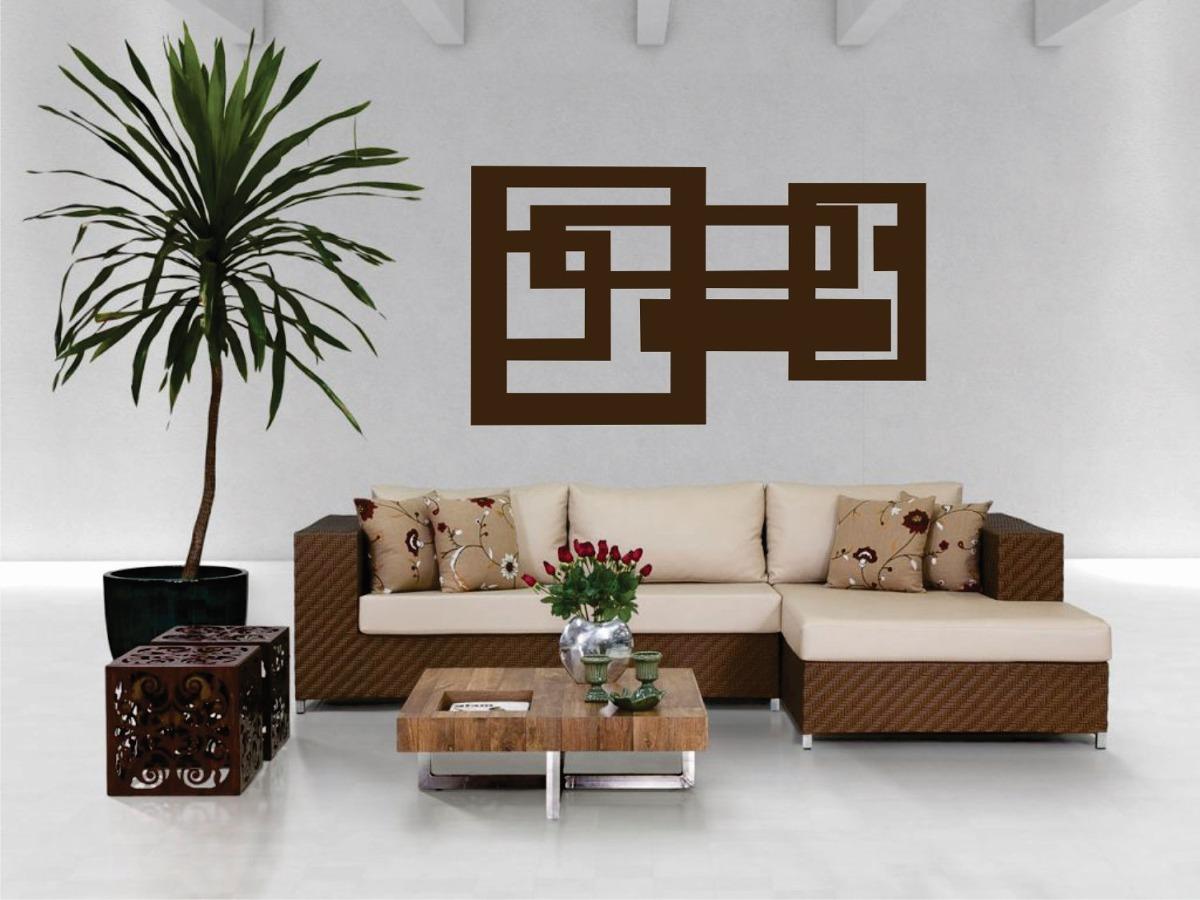 Quadro decorativo adorno de parede abstrato 6mm para sala for Adornos decorativos para sala