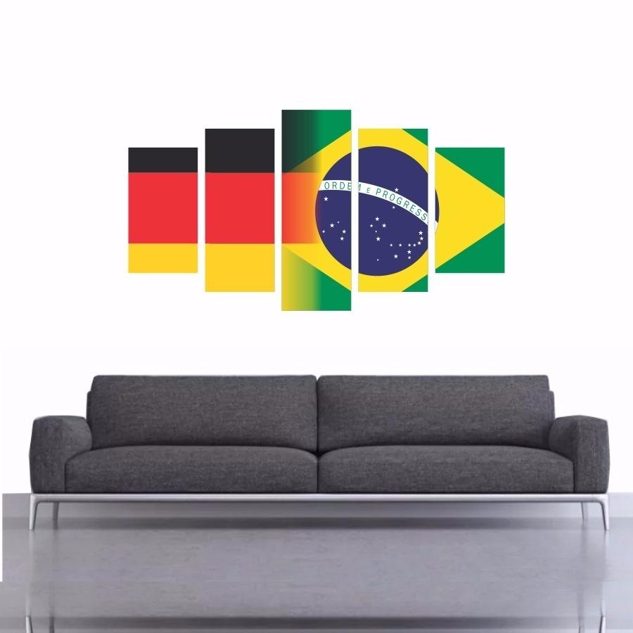 1ba1bea223227 quadro decorativo alemanha x brasil 200x100. Carregando zoom.