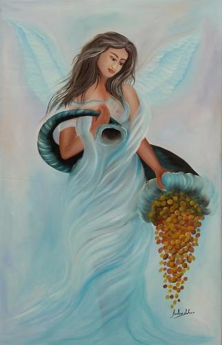 quadro decorativo- anjo da fortuna