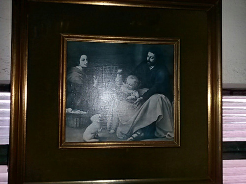 quadro decorativo antigo papel