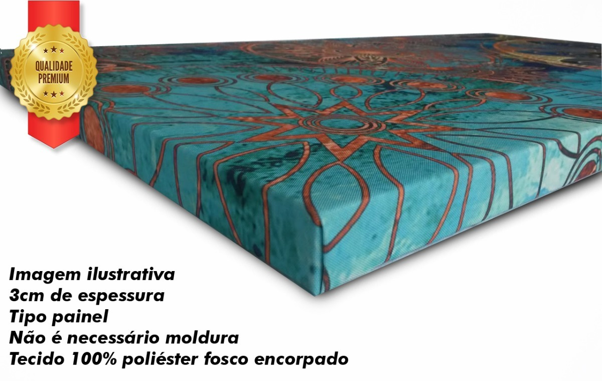 5ef5da12444f4 quadro decorativo árvore azul tiffany 70x162. Carregando zoom.
