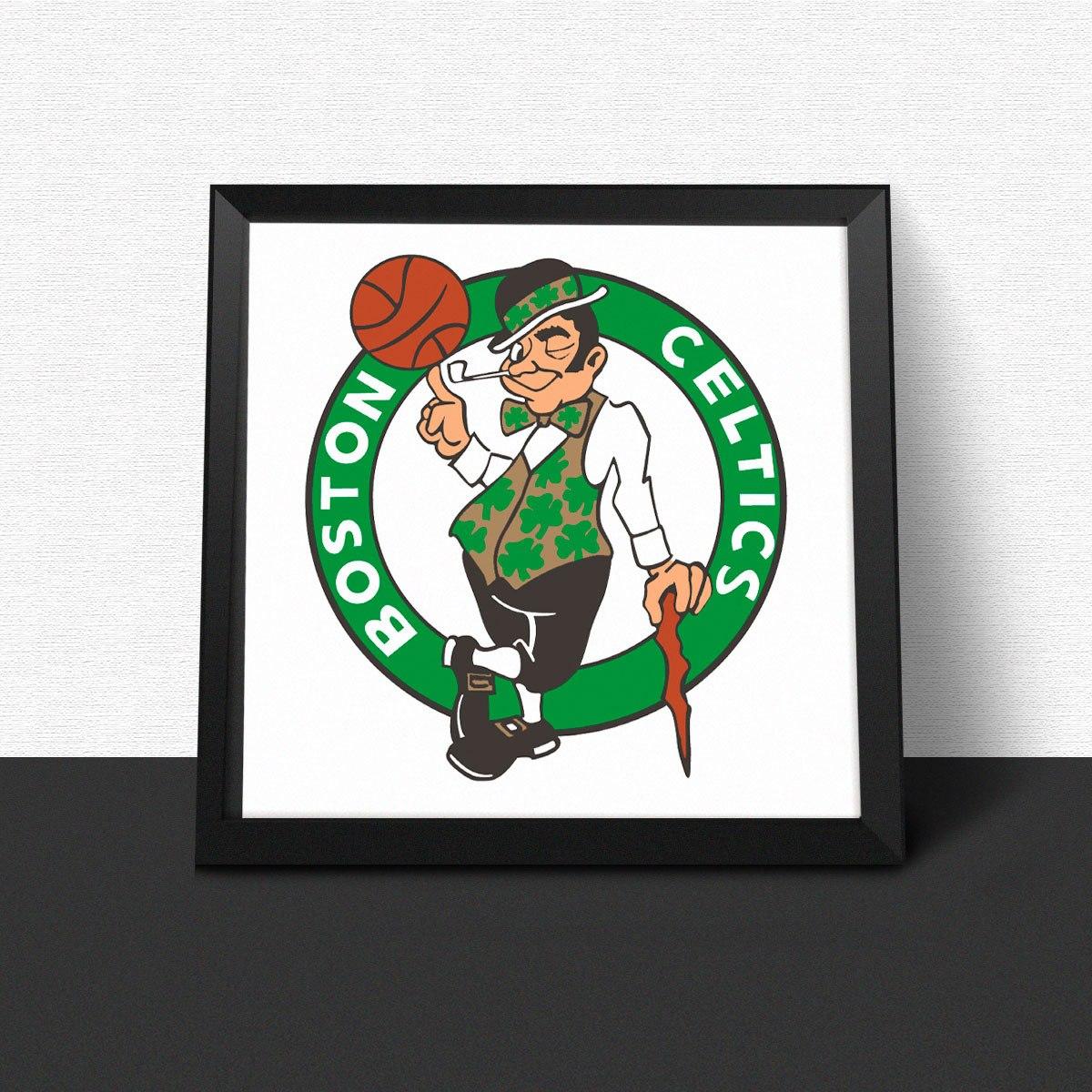 bcdf2f8c2 quadro decorativo basquete boston celtics nba. Carregando zoom.