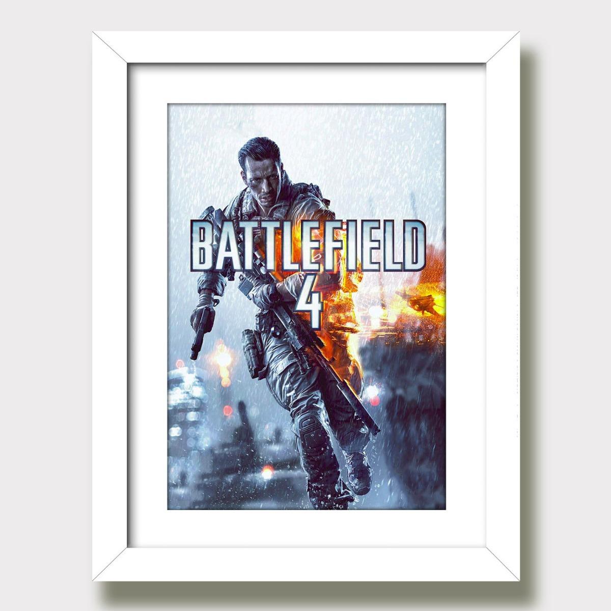 2f7080da9 quadro decorativo battlefield 4 filme game bf4 sala jogos kp. Carregando  zoom.
