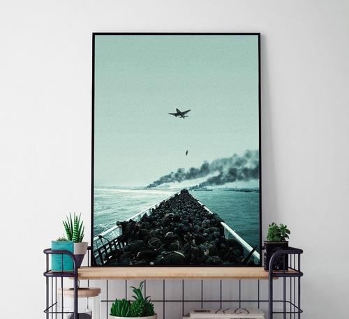 quadro decorativo c/ moldura e vidro   40 x 60 - mod. 9